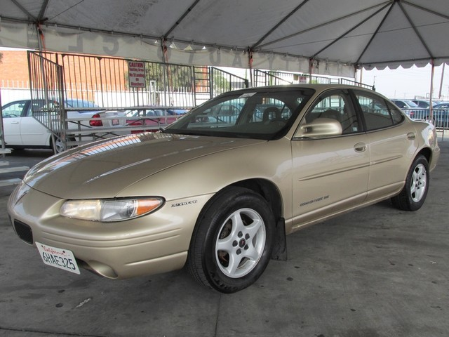2000 Pontiac Grand Prix SE This particular Vehicles true mileage is unknown TMU Please call or