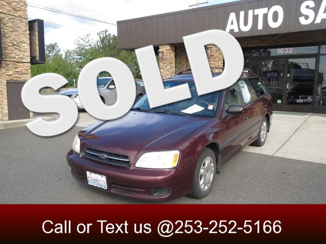 2000 Subaru Legacy L AWD The CARFAX Buy Back Guarantee that comes with this vehicle means that you