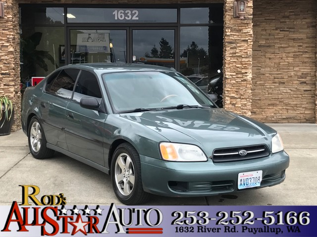 2000 Subaru Legacy AWD The CARFAX Buy Back Guarantee that comes with this vehicle means that you c