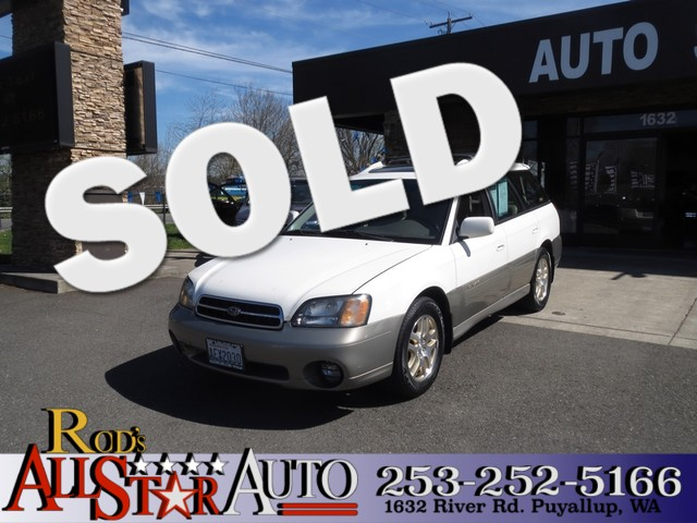 2000 Subaru Outback Ltd AWD The CARFAX Buy Back Guarantee that comes with this vehicle means that