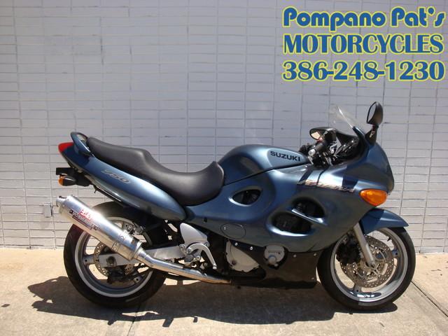2000 Suzuki GSX750F Katana 750 Daytona Beach, FL 2
