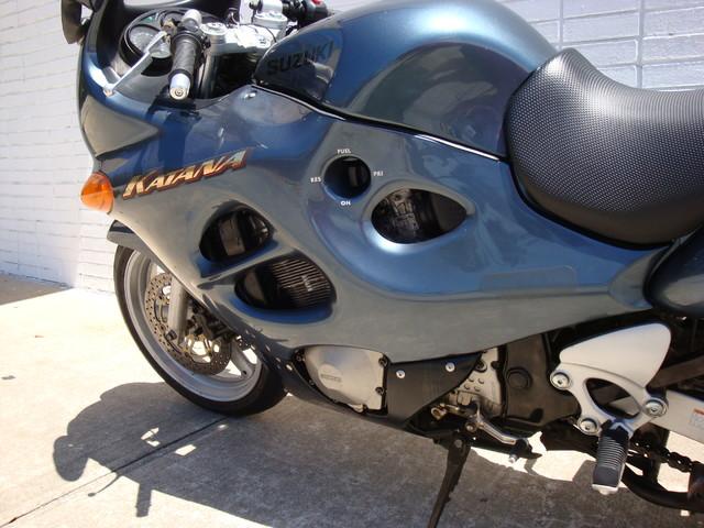 2000 Suzuki GSX750F Katana 750 Daytona Beach, FL 10