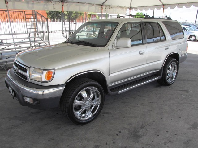 2000 Toyota 4Runner SR5 Please call or e-mail to check availability All of our vehicles are ava