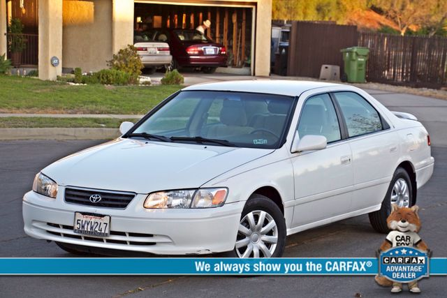 2000 Toyota CAMRY LE AUTOMATIC CRUISE CONTROL SERVICE RECORDS AVAILABLE Woodland Hills, CA 0