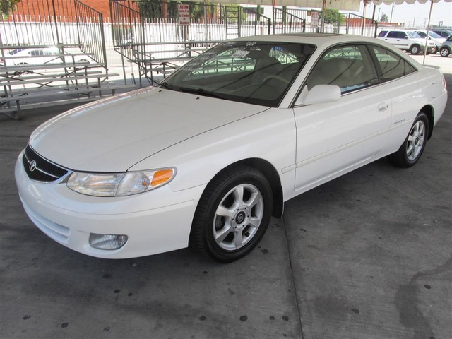 2000 Toyota Camry Solara SLE Please call or e-mail to check availability All of our vehicles ar
