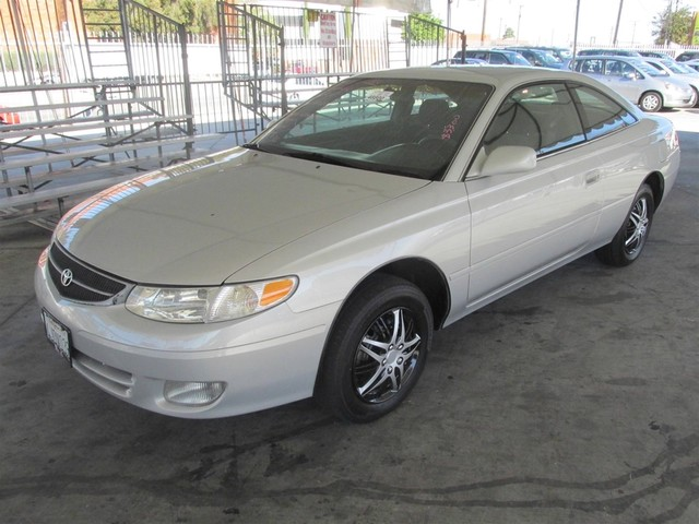 2000 Toyota Camry Solara SE Please call or e-mail to check availability All of our vehicles are