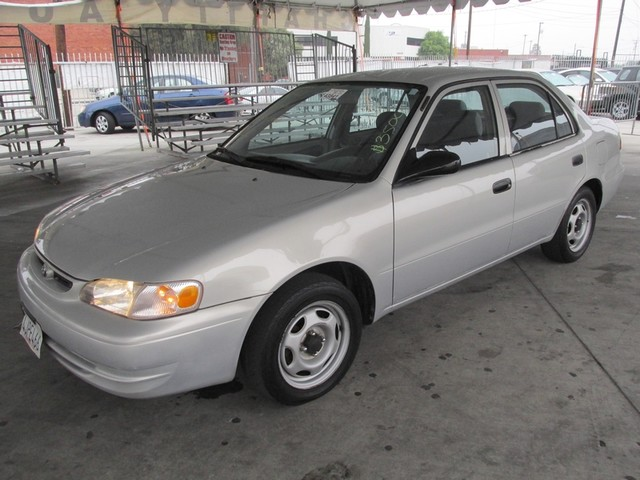 2000 Toyota Corolla VE Please call or e-mail to check availability All of our vehicles are avail