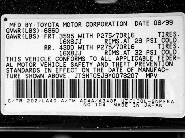 2000 Toyota Land Cruiser Burbank, CA 21