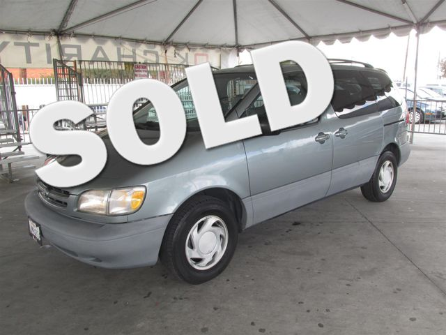 2000 Toyota Sienna LE This particular Vehicle comes with 3rd Row Seat Please call or e-mail to ch