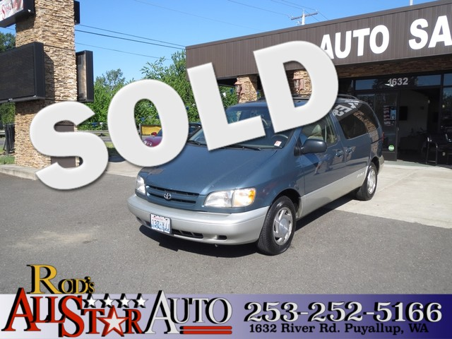 2000 Toyota Sienna XLE The CARFAX Buy Back Guarantee that comes with this vehicle means that you c