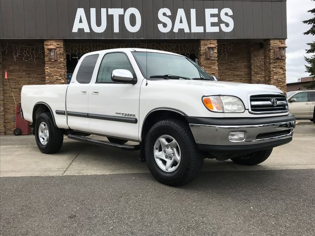 2000 Toyota Tundra SR5 New Price CARFAX One-Owner White 2000 Toyota Tundra SR5 4WD 4-Speed Autom