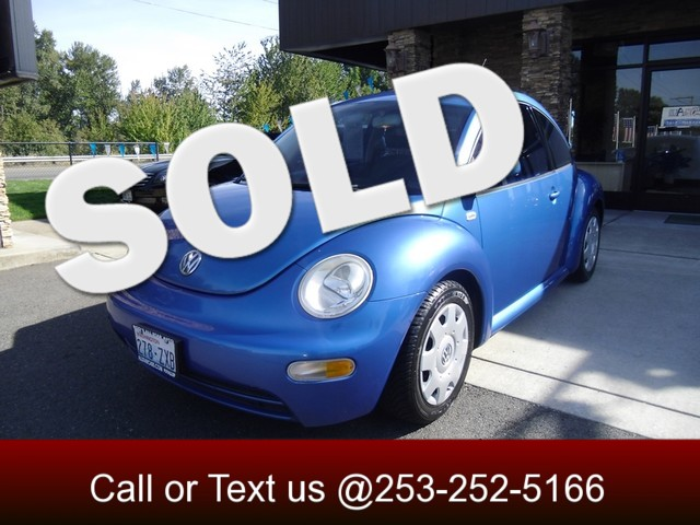 2000 Volkswagen New Beetle GL The CARFAX Buy Back Guarantee that comes with this vehicle means that