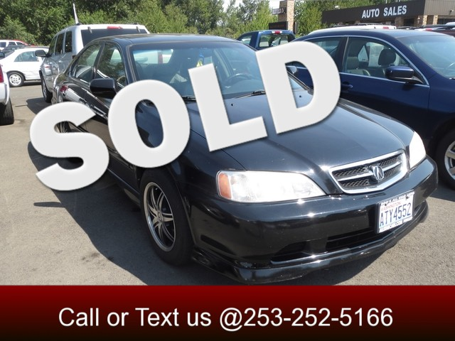 2001 Acura TL wNavigation The CARFAX Buy Back Guarantee that comes with this vehicle means that y