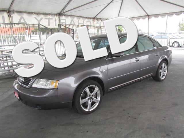 2001 Audi A6 Please call or e-mail to check availability All of our vehicles are available for