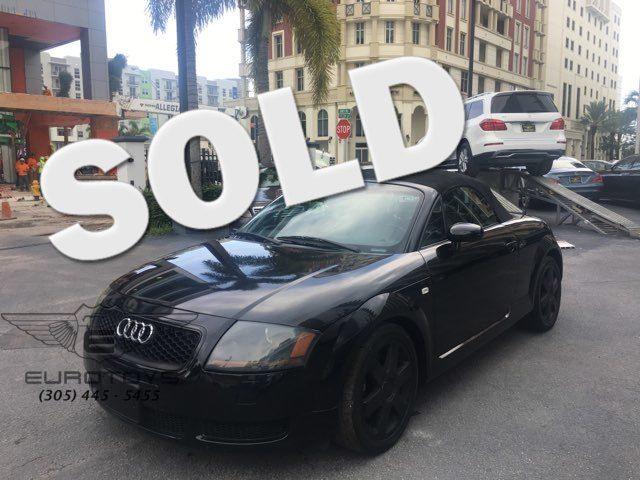 2001 Audi TT     Miami, FL   Eurotoys in Miami FL