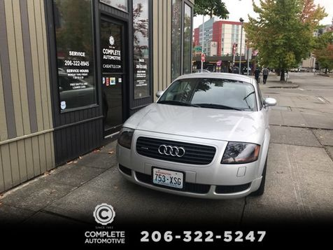 2001 Audi TT Quattro All Wheel Drive Coupe 225HP 6-Spd Local 1 Owner 69,000 Miles Heated Bose Xenons 17