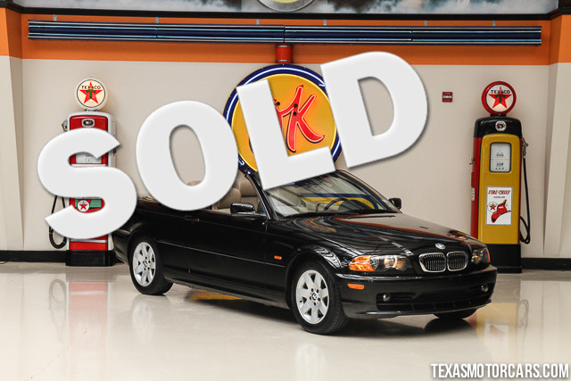 2001 BMW 325Ci This 2001 BMW 325Ci is in great shape with only 67 845 miles The 325Ci comes with