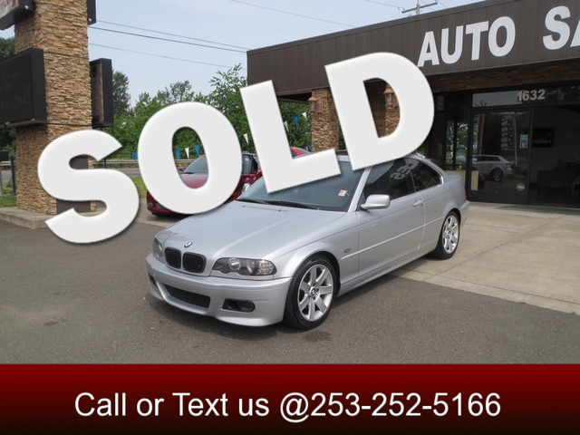 2001 BMW 325Ci The CARFAX Buy Back Guarantee that comes with this vehicle means that you can buy w