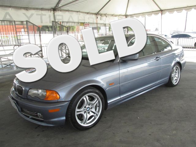 2001 BMW 330Ci Please call or e-mail to check availability All of our vehicles are available fo