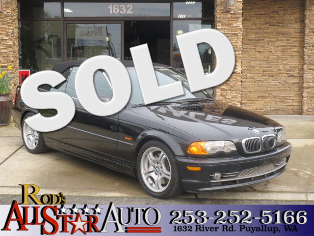 2001 BMW 330Ci The CARFAX Buy Back Guarantee that comes with this vehicle means that you can buy w