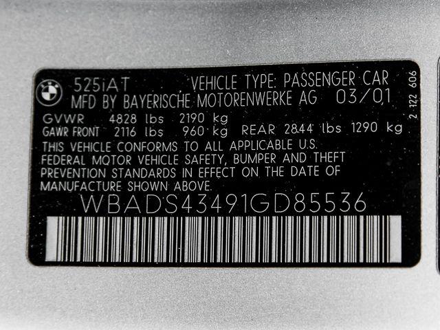 2001 BMW 525i 525iAT Burbank, CA 31