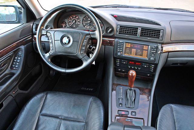2001 BMW 740i SEDAN AUTOMATIC ONLY 71K ORIGINAL MLS NAVIGAION XENON NEW TIRES Woodland Hills, CA 20