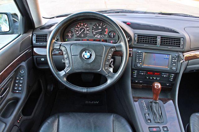 2001 BMW 740i SEDAN AUTOMATIC ONLY 71K ORIGINAL MLS NAVIGAION XENON NEW TIRES Woodland Hills, CA 22