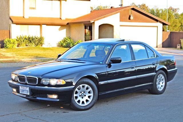 2001 BMW 740i SEDAN AUTOMATIC ONLY 71K ORIGINAL MLS NAVIGAION XENON NEW TIRES Woodland Hills, CA 1