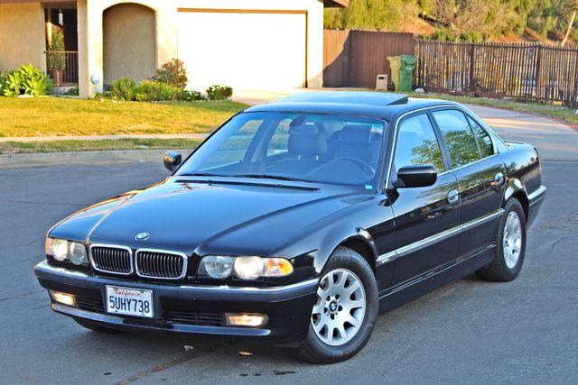 2001 BMW 740i SEDAN AUTOMATIC ONLY 71K ORIGINAL MLS NAVIGAION XENON NEW TIRES Woodland Hills, CA 9