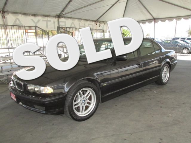 2001 BMW 740iL This particular Vehicles true mileage is unknown TMU Please call or e-mail to c