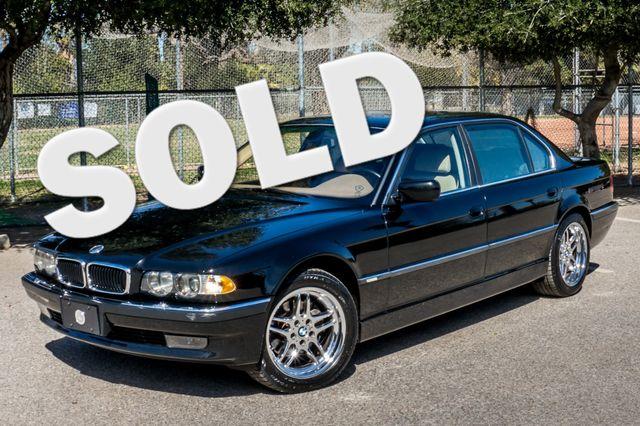 2001 BMW 740iL Reseda, CA 0