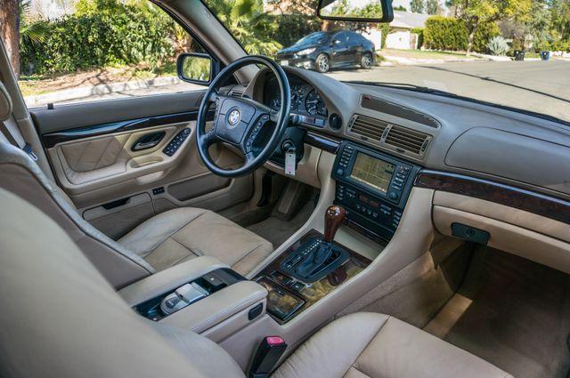 2001 BMW 740iL Reseda, CA 34
