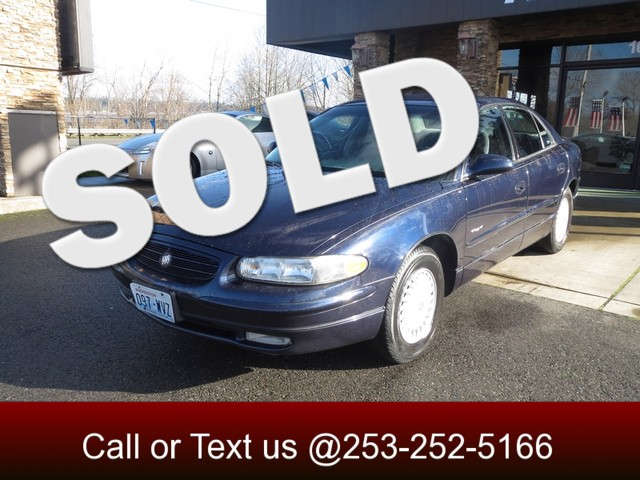 2001 Buick Regal LS The CARFAX Buy Back Guarantee that comes with this vehicle means that you can b