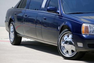 2001 Cadillac Deville Professional Limousine * ONLY 30k MILES * Chrome Wheels * NICE! Plano, Texas 34