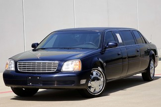 2001 Cadillac Deville Professional Limousine * ONLY 30k MILES * Chrome Wheels * NICE! Plano, Texas 1
