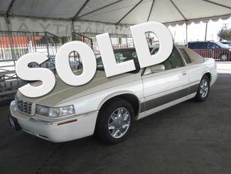 2001 Cadillac Eldorado ESC Gardena, California