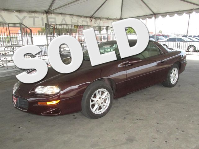 2001 Chevrolet Camaro Please call or e-mail to check availability All of our vehicles are avail