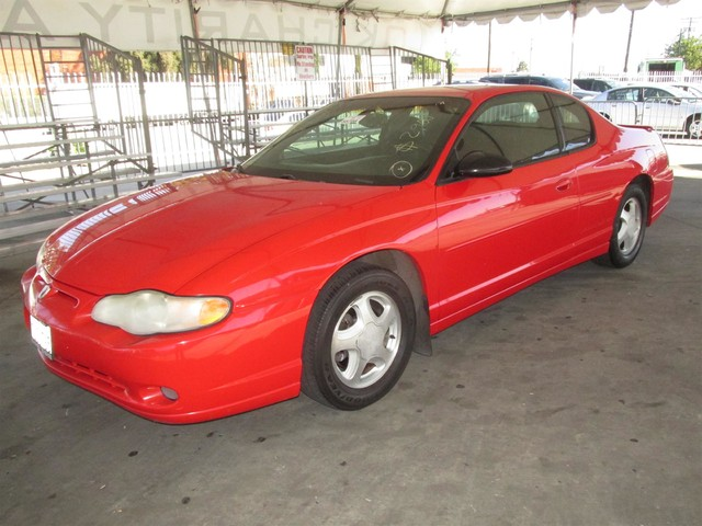 2001 Chevrolet Monte Carlo SS Please call or e-mail to check availability All of our vehicles a
