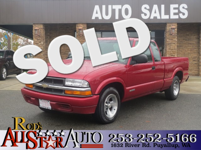 2001 Chevrolet S-10 LS The CARFAX Buy Back Guarantee that comes with this vehicle means that you c