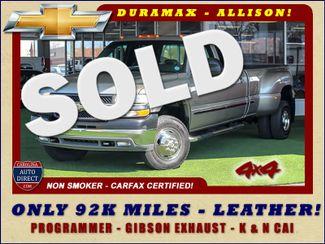 2001 Chevrolet Silverado 3500 LS Crew Cab Long Bed - 4x4 - LEATHER BUCKETS Mooresville , NC