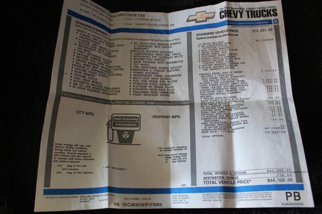 2001 Chevrolet Silverado 3500 LS Crew Cab Long Bed - 4x4 - LEATHER BUCKETS Mooresville , NC 4