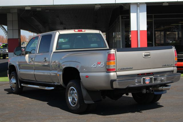 2001 Chevrolet Silverado 3500 LS Crew Cab Long Bed - 4x4 - LEATHER BUCKETS Mooresville , NC 25