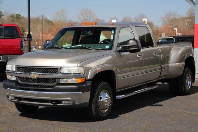 2001 Chevrolet Silverado 3500 LS Crew Cab Long Bed - 4x4 - LEATHER BUCKETS Mooresville , NC 23