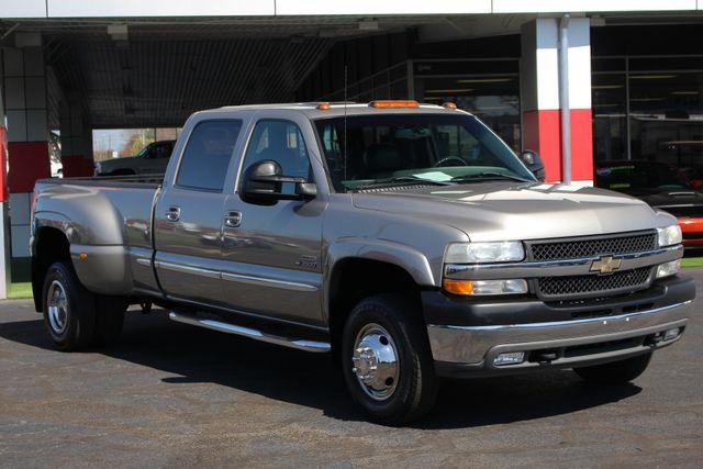 2001 Chevrolet Silverado 3500 LS Crew Cab Long Bed - 4x4 - LEATHER BUCKETS Mooresville , NC 22