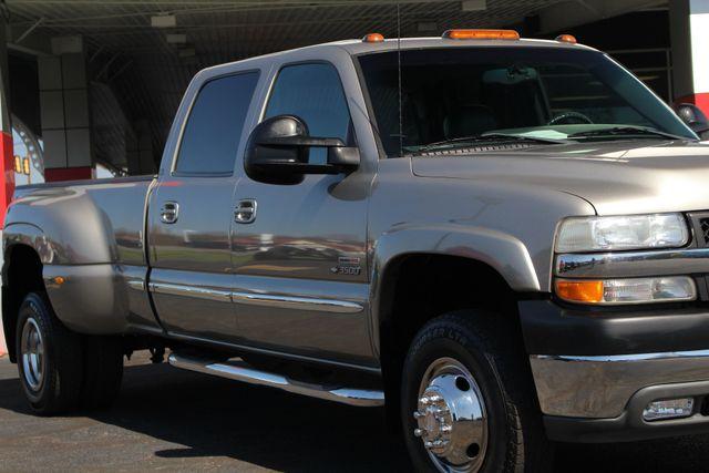 2001 Chevrolet Silverado 3500 LS Crew Cab Long Bed - 4x4 - LEATHER BUCKETS Mooresville , NC 26