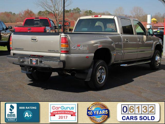 2001 Chevrolet Silverado 3500 LS Crew Cab Long Bed - 4x4 - LEATHER BUCKETS Mooresville , NC 2