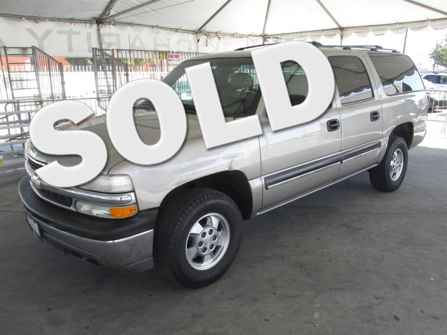 2001 Chevrolet Suburban LS This particular Vehicle comes with 3rd Row Seat Please call or e-mail
