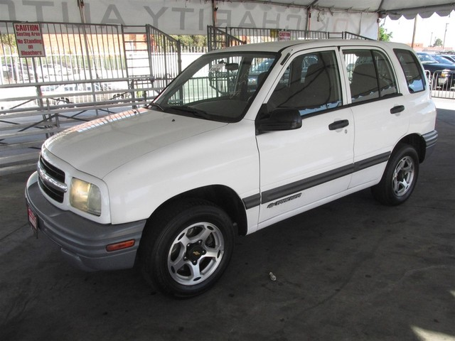 2001 Chevrolet Tracker Base Please call or e-mail to check availability All of our vehicles are