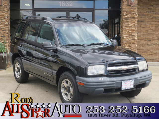 2001 Chevrolet Tracker 4WD The CARFAX Buy Back Guarantee that comes with this vehicle means that y
