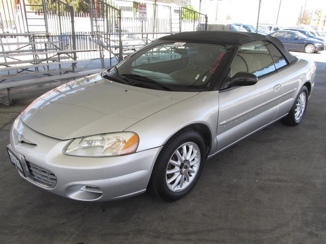 2001 Chrysler Sebring LX Please call or e-mail to check availability All of our vehicles are av